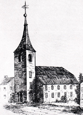 2nd Church, 1st building